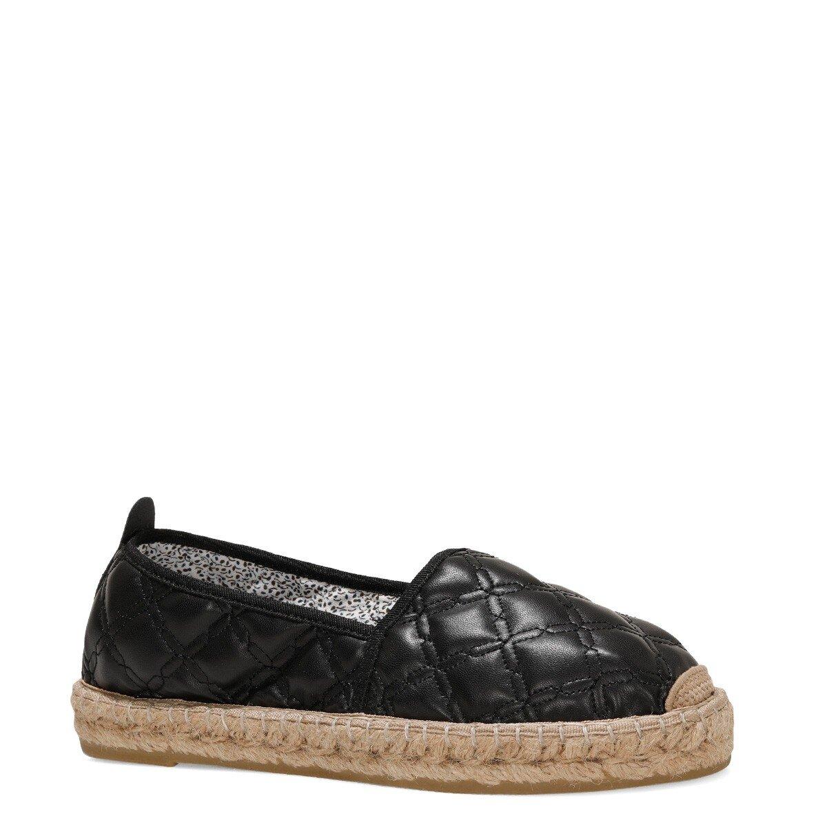 BONEMORE 1FX Siyah Kadın Espadril Ayakkabı
