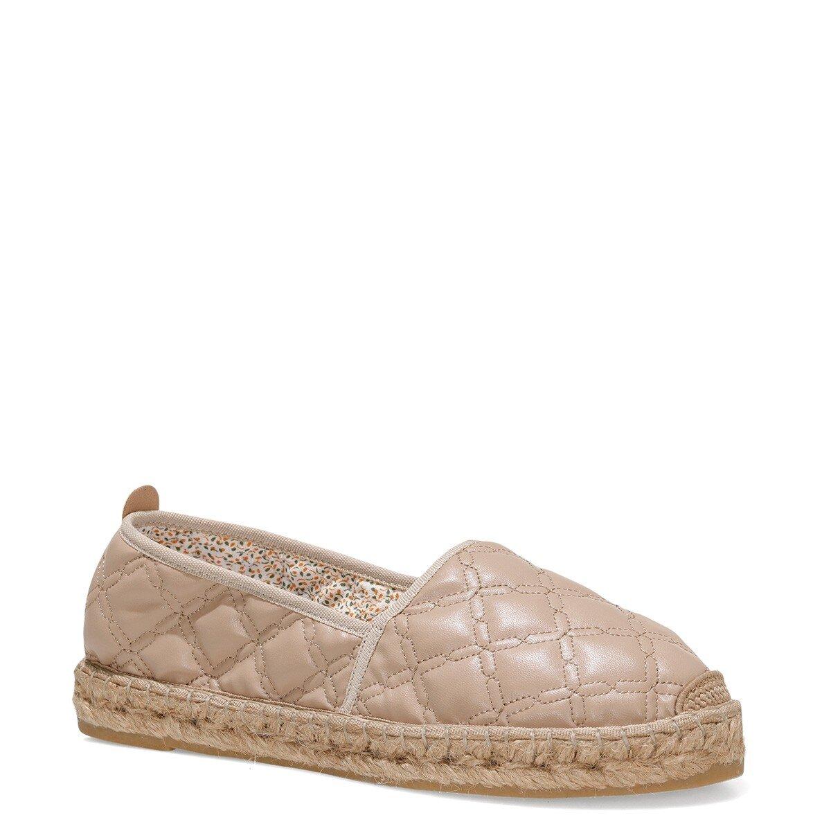 BONEMORE 1FX Camel Kadın Espadril Ayakkabı