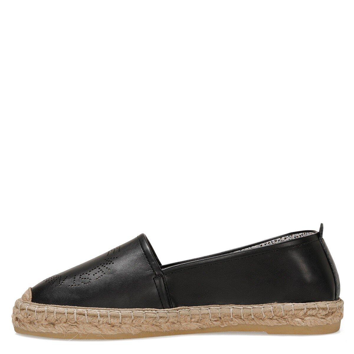 MYCARME 1FX Siyah Kadın Espadril Ayakkabı