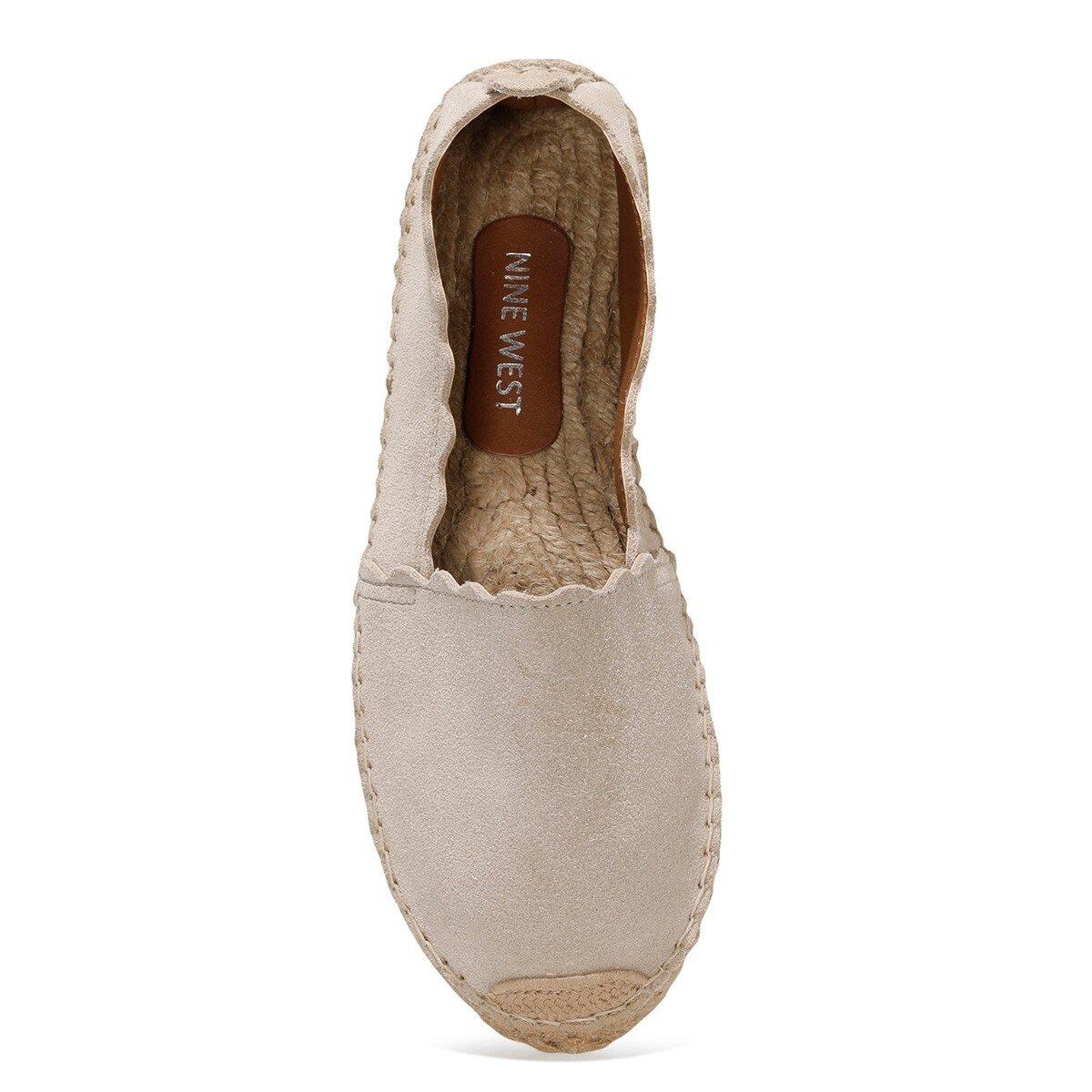 UNDERDAY 1FX Bej Kadın Espadril Ayakkabı