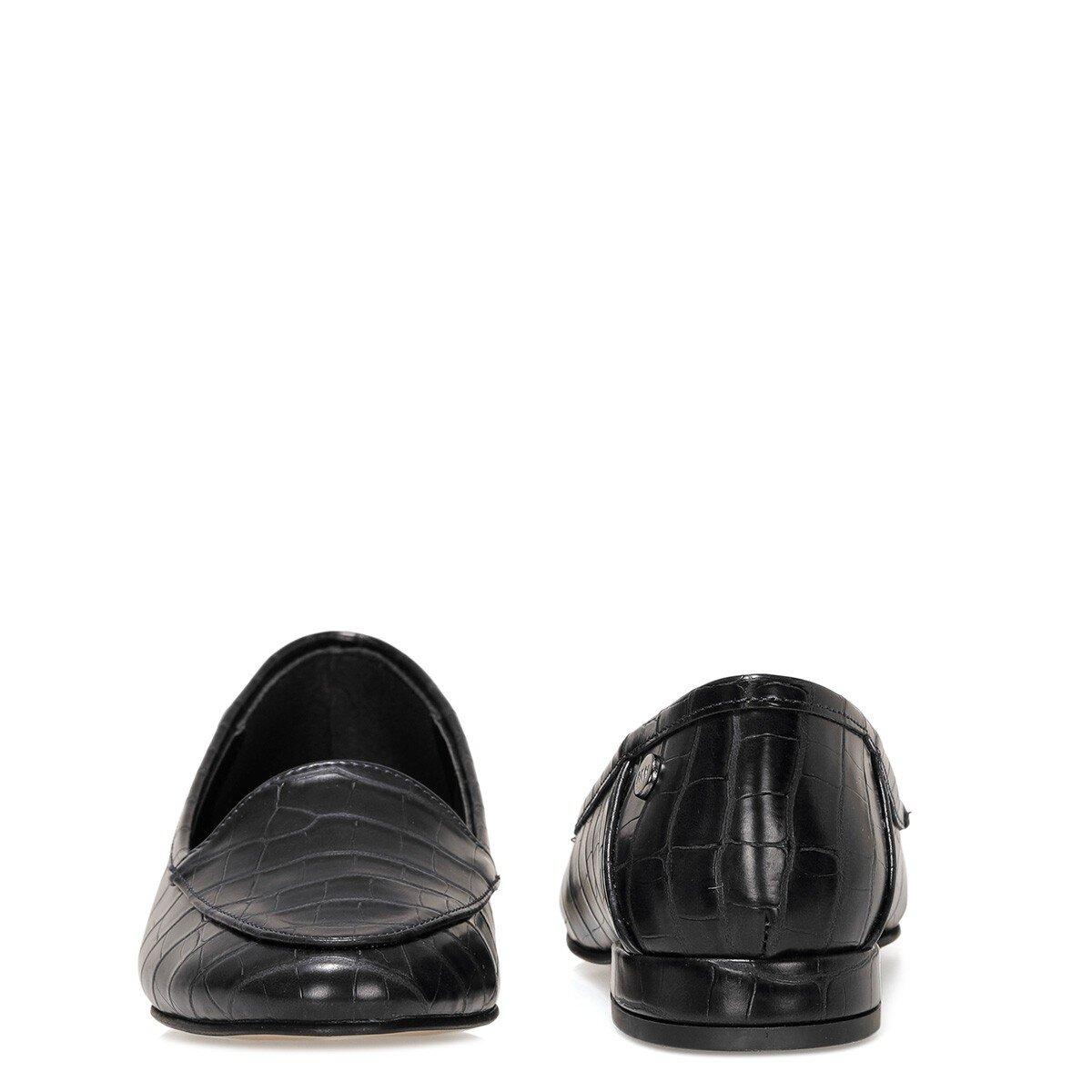 BANNA 1FX Siyah Kadın Loafer