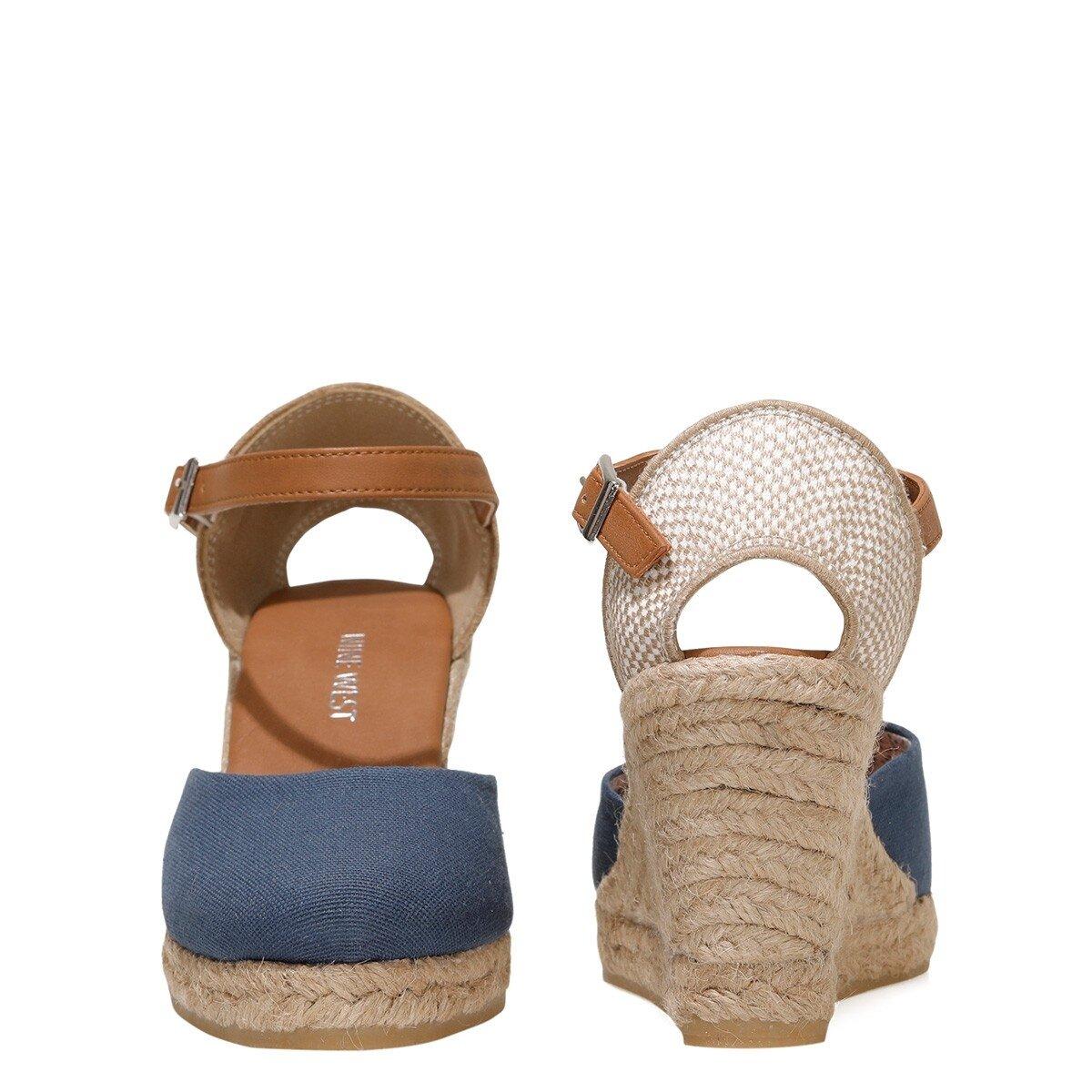 ARTEMISIA 1FX Lacivert Kadın Dolgu Topuk Sandalet