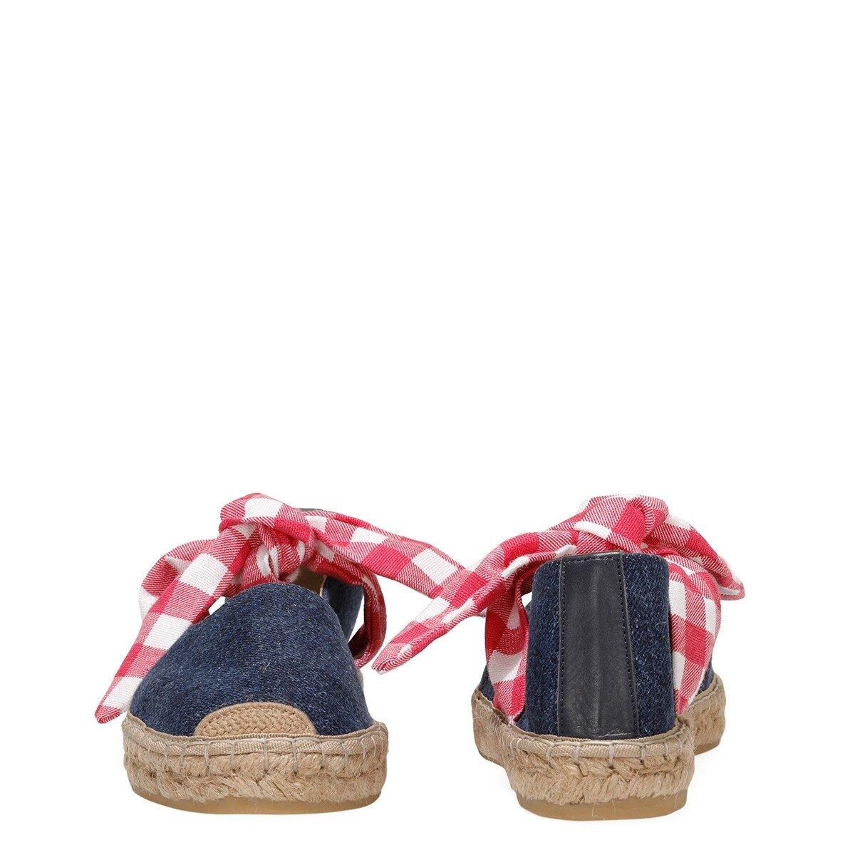YOALI 1 FX Lacivert Kadın Espadril Ayakkabı