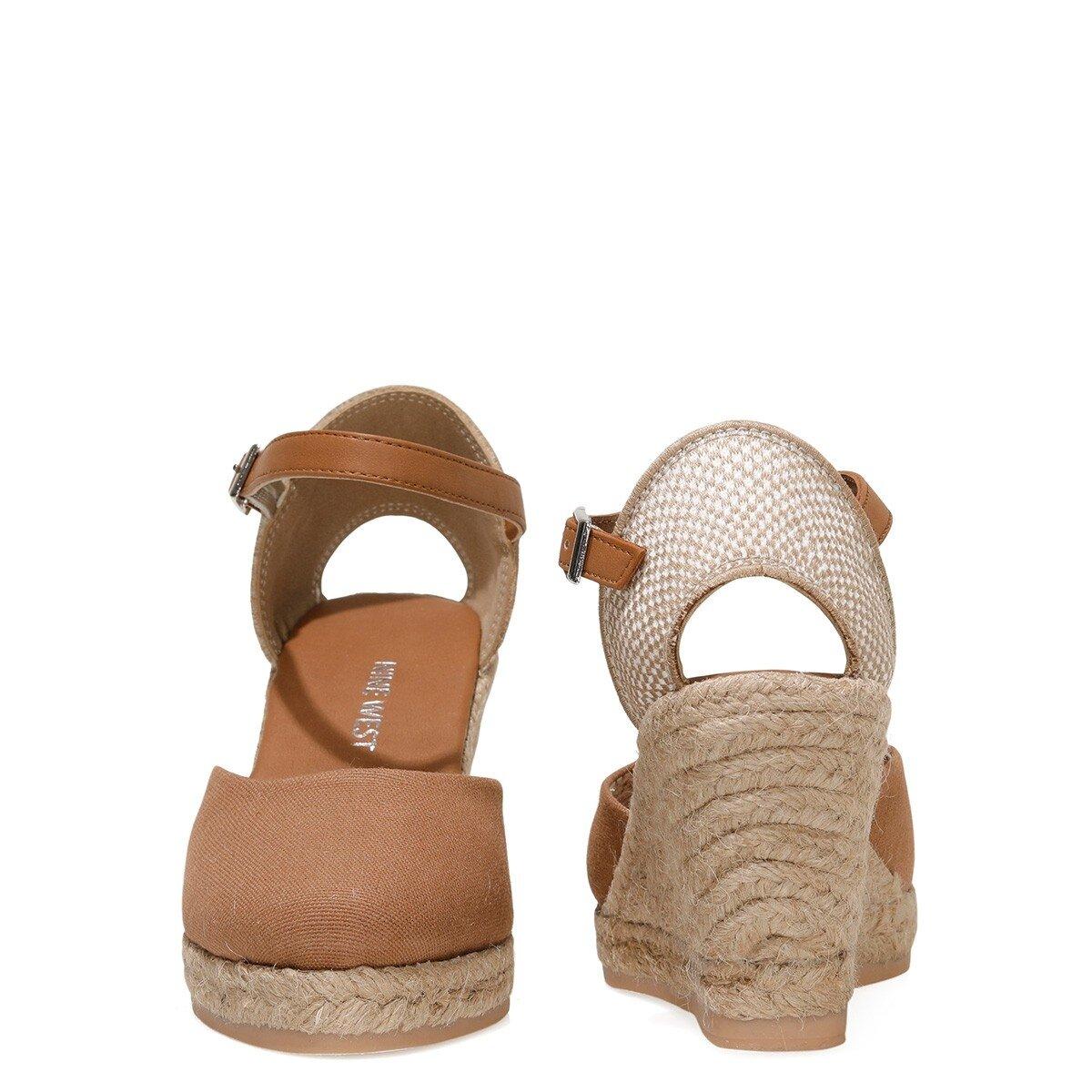 ARTEMISIA 1FX Taba Kadın Dolgu Topuklu Sandalet