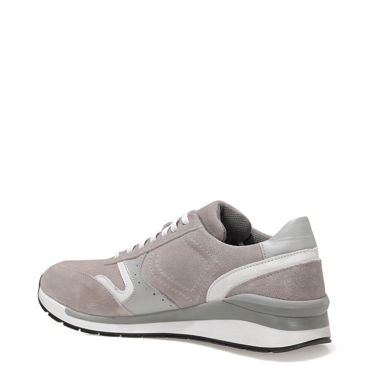 BURVA 1FX Açık Gri Erkek Spor Ayakkabı