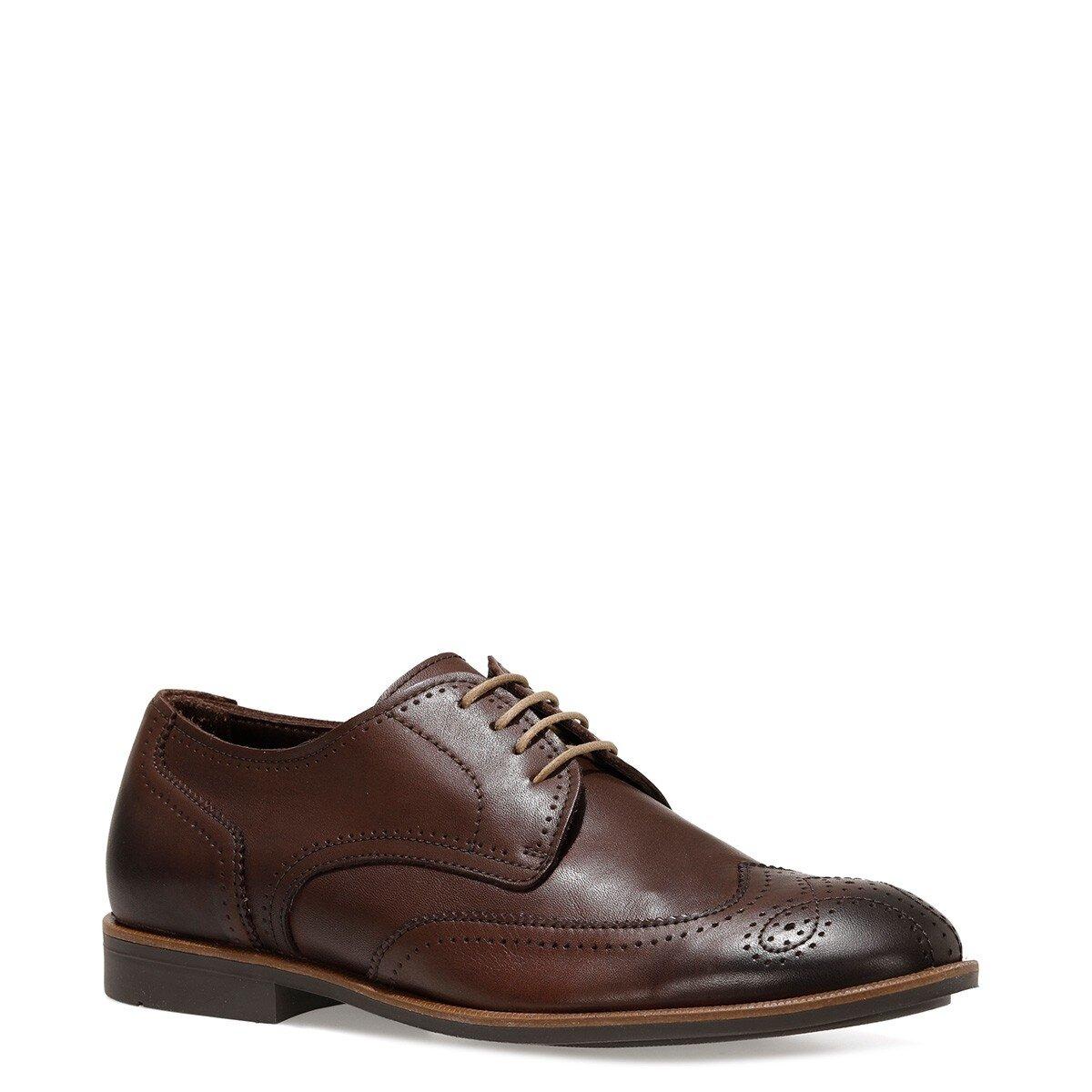 ZORAL 1FX Kahverengi Erkek Klasik Ayakkabı