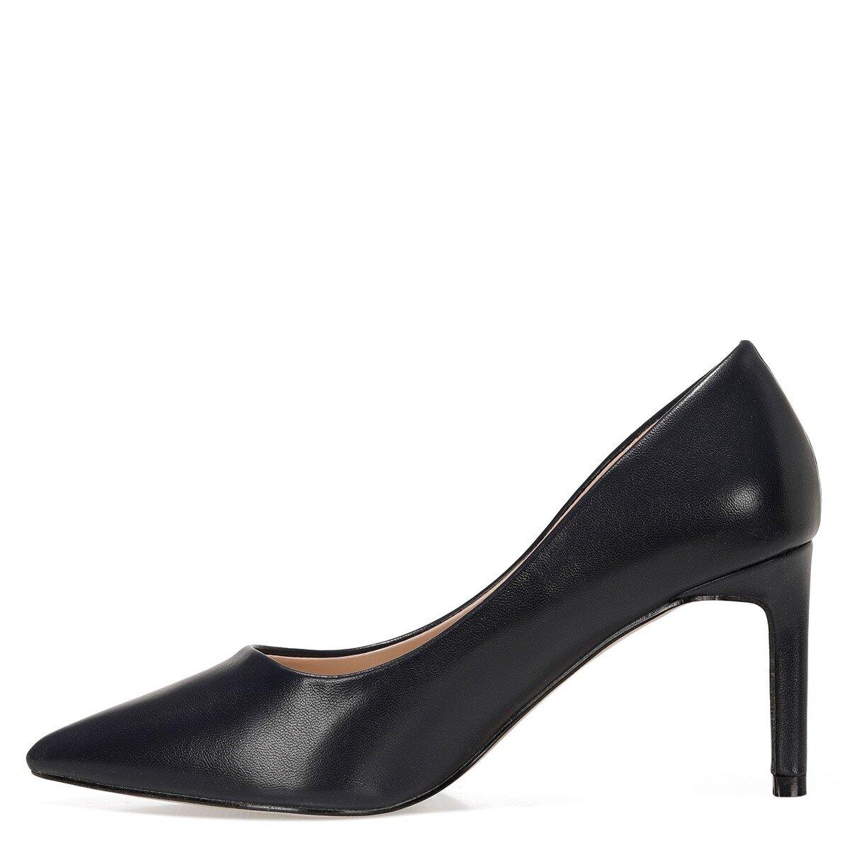 GENTILLA 1FX Lacivert Kadın Topuklu Ayakkabı