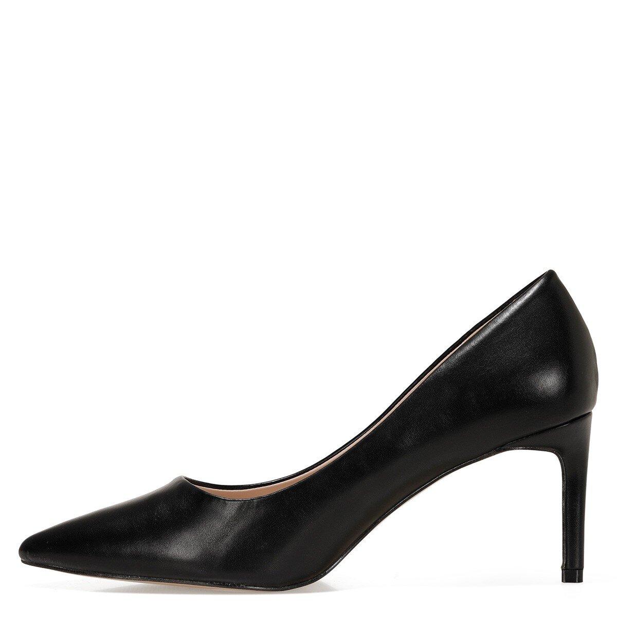 GENTILLA 1FX Siyah Kadın Topuklu Ayakkabı