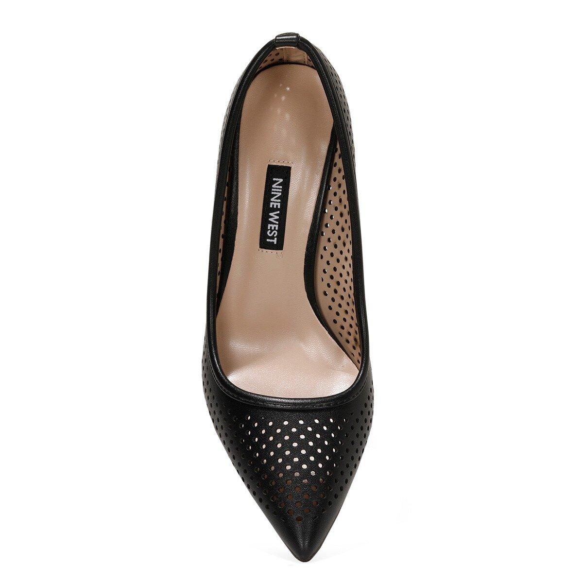JERRIKA 1FX Siyah Kadın Topuklu Ayakkabı