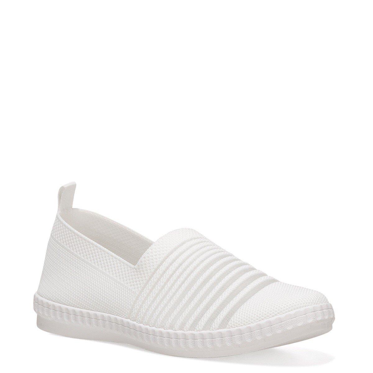 SHANA 1FX Beyaz Kadın Slip On Ayakkabı