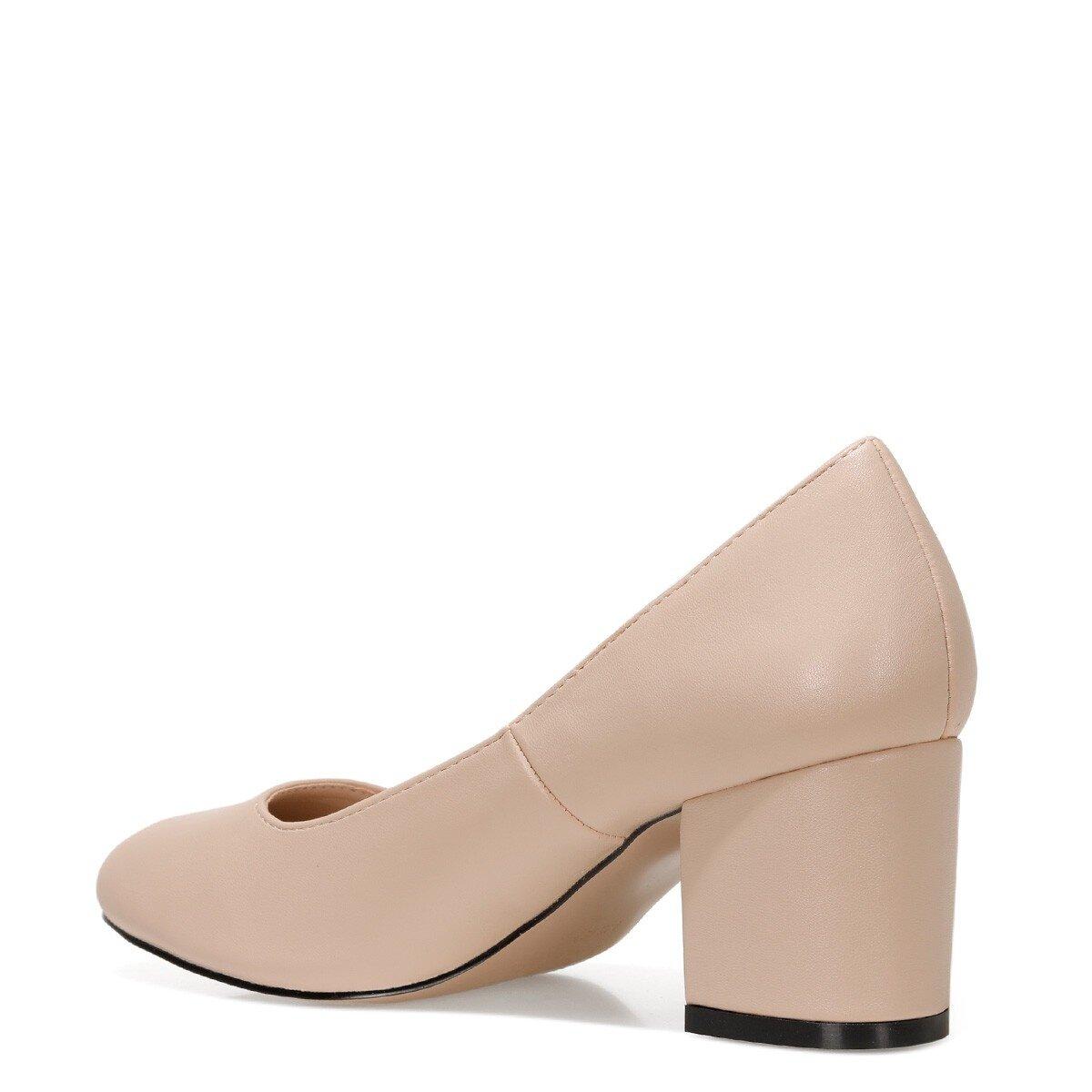 ULISEN 1FX NUDE Kadın Kısa Topuklu Ayakkabı