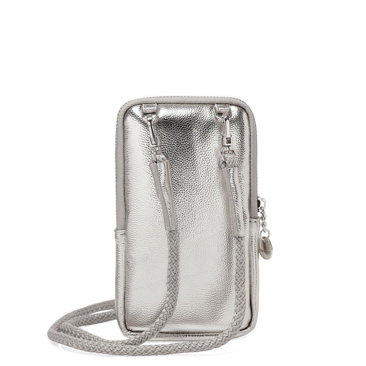MOTTO 1FX Gümüş Kadın Çapraz Çanta