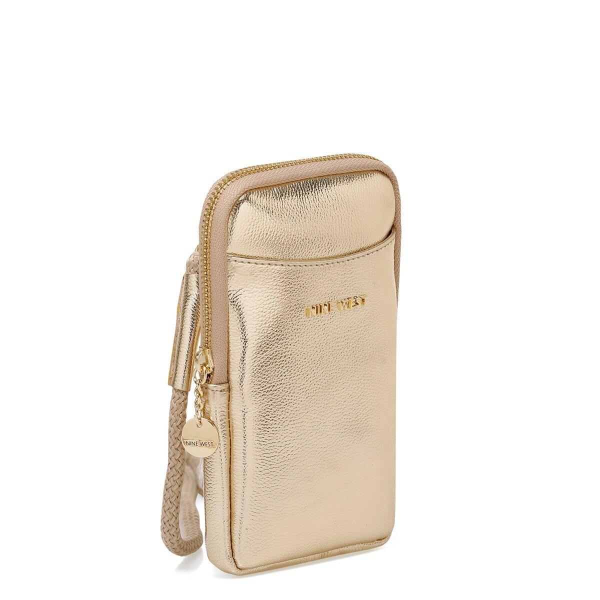 MOTTO 1FX Altın Kadın Çapraz Çanta