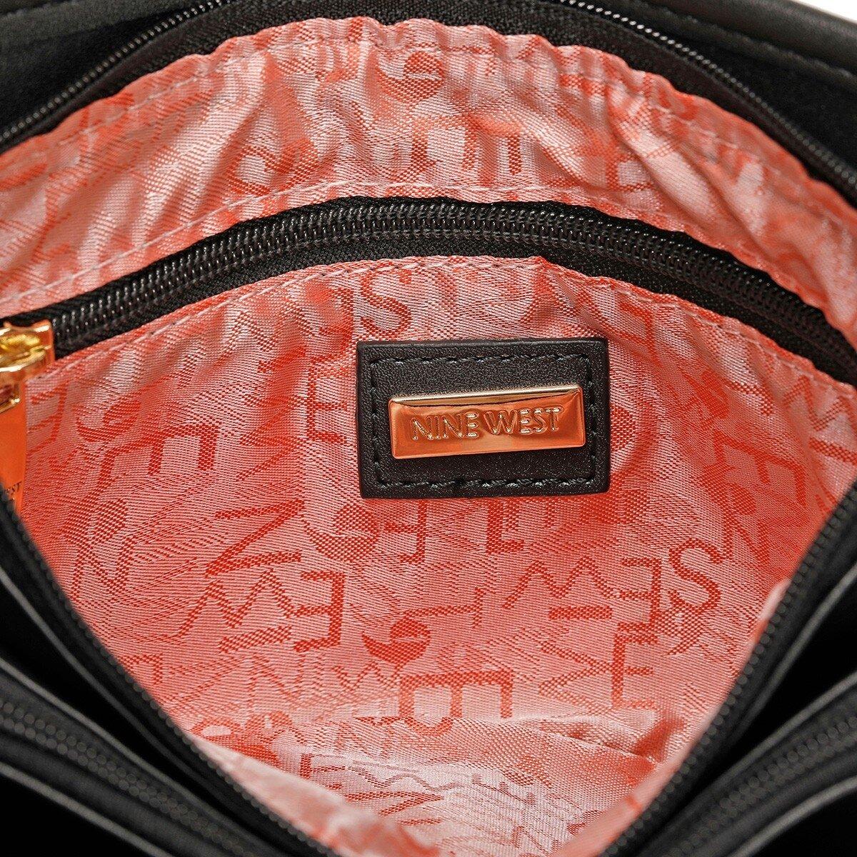 MINEL 1 FX Siyah Kadın Çapraz Çanta