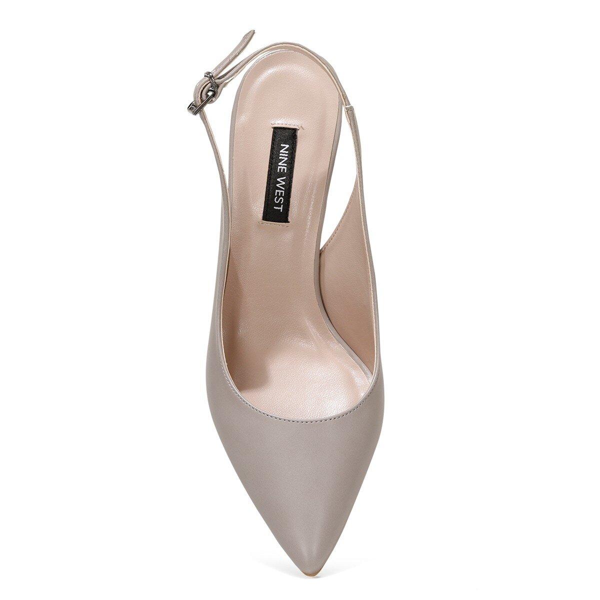 HALBEY 1FX Gri Kadın Gova Ayakkabı