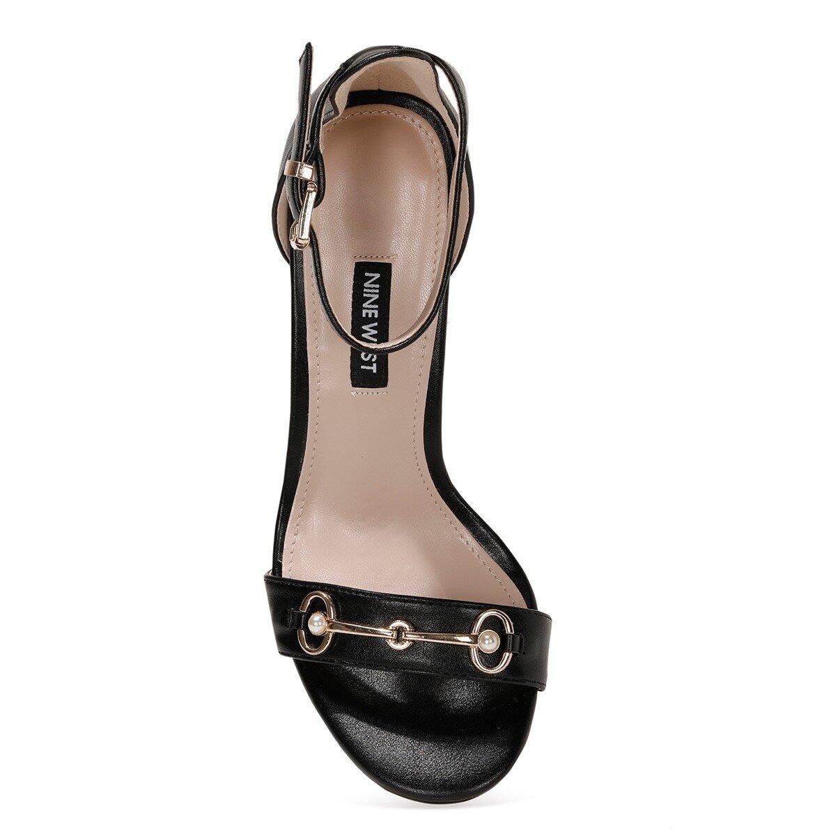 LEATRICE 1FX Siyah Kadın Sandalet
