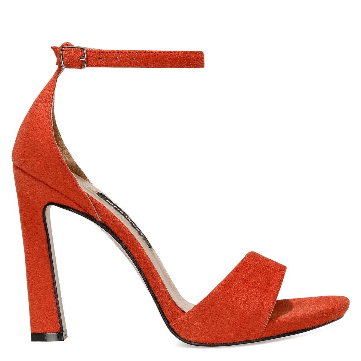 CELINSE 1FX Turuncu Kadın Gova Ayakkabı