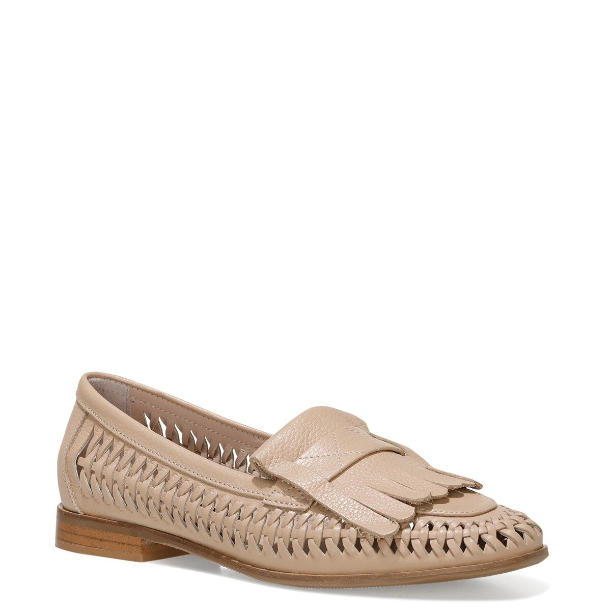 FAINRA 1FX NUDE Kadın Loafer Ayakkabı