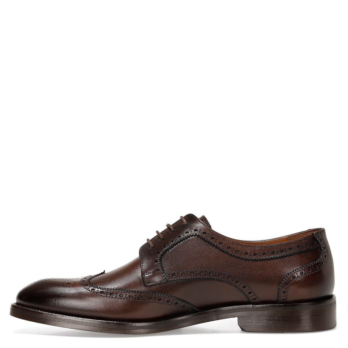 ROVAN 1FX Kahverengi Erkek Klasik Ayakkabı