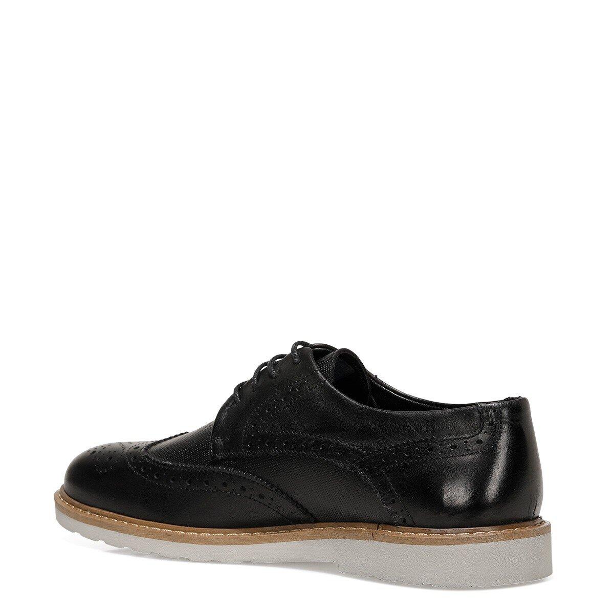 BENON 1FX Siyah Erkek Klasik Ayakkabı