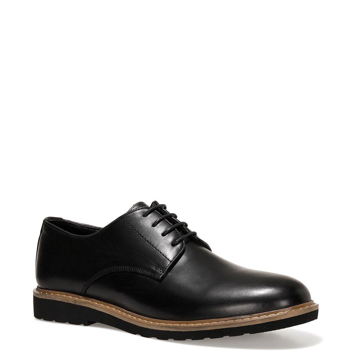 LOMBA 1FX Siyah Erkek Klasik Ayakkabı