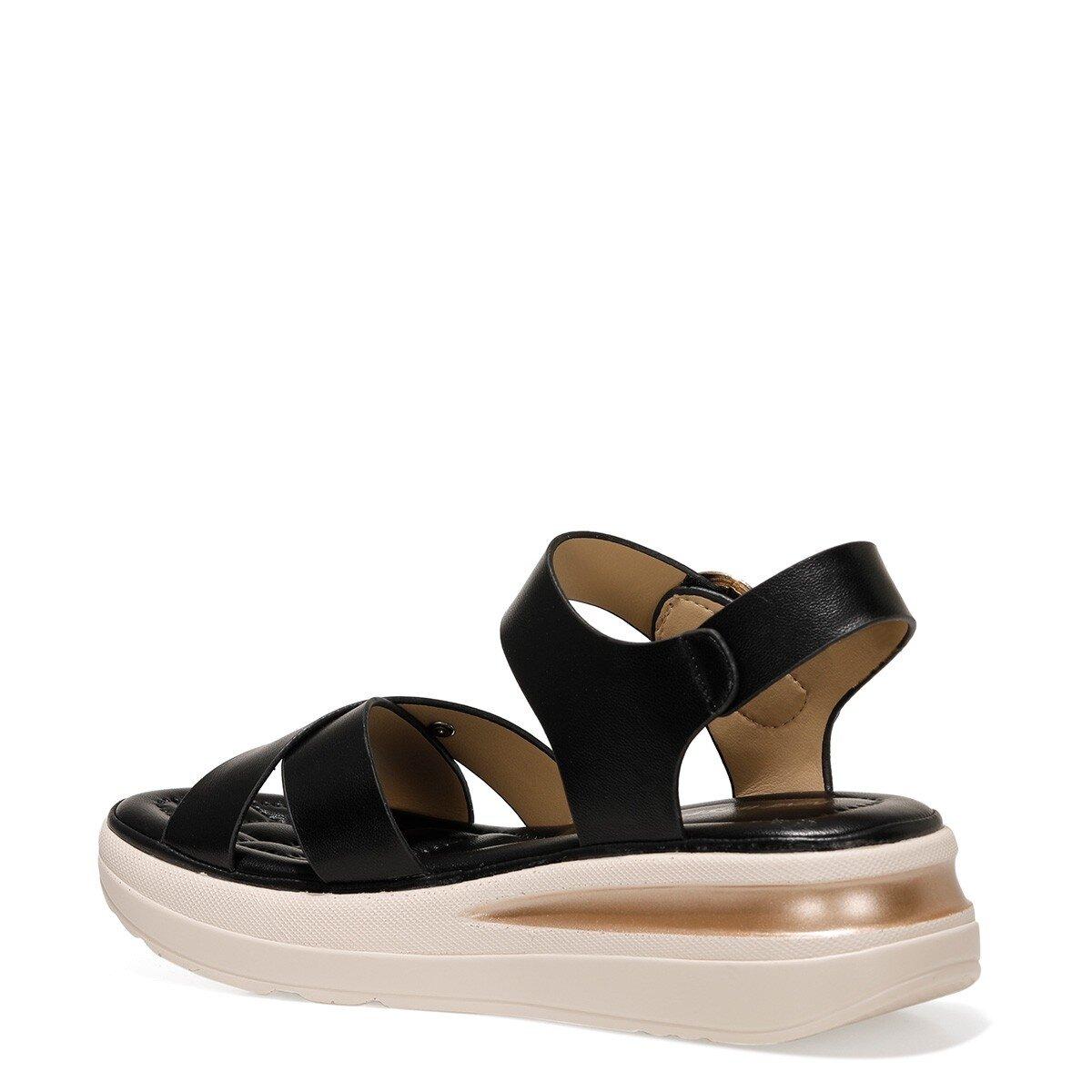 DANNA 1FX Siyah Kadın Comfort Ayakkabı