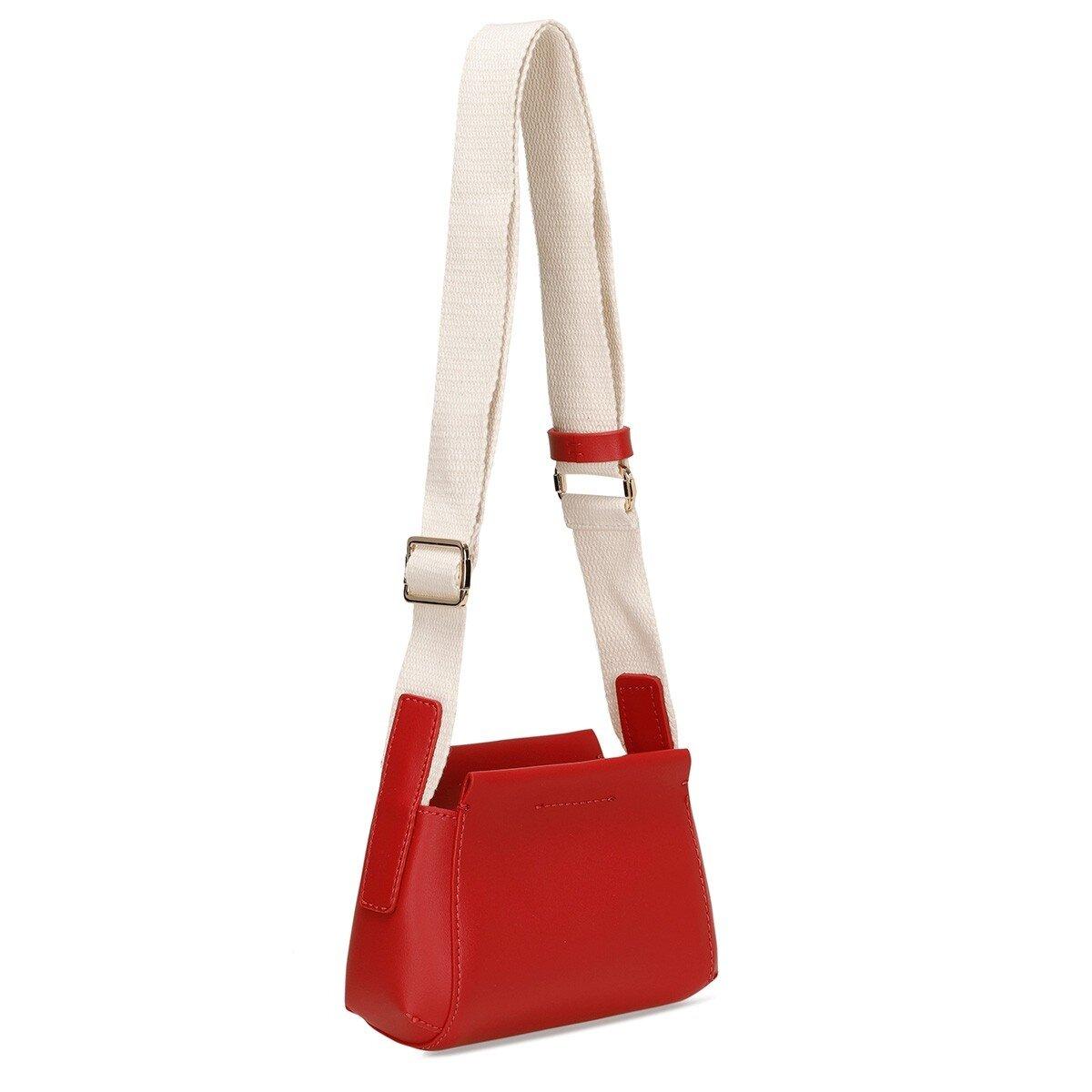 LUSIA 1FX Kırmızı Kadın Çapraz Çanta