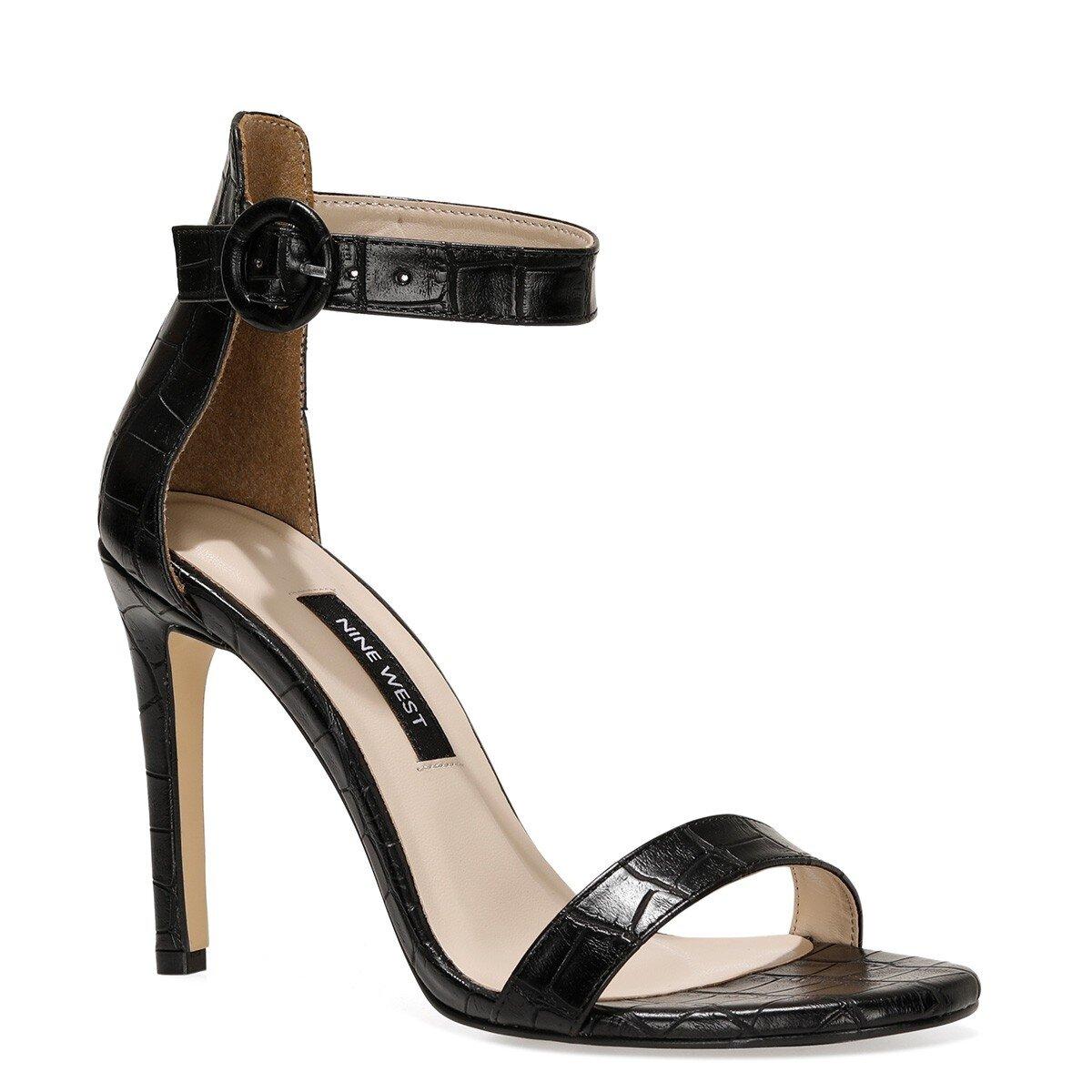 LINDIT 1FX Siyah Kadın Sandalet