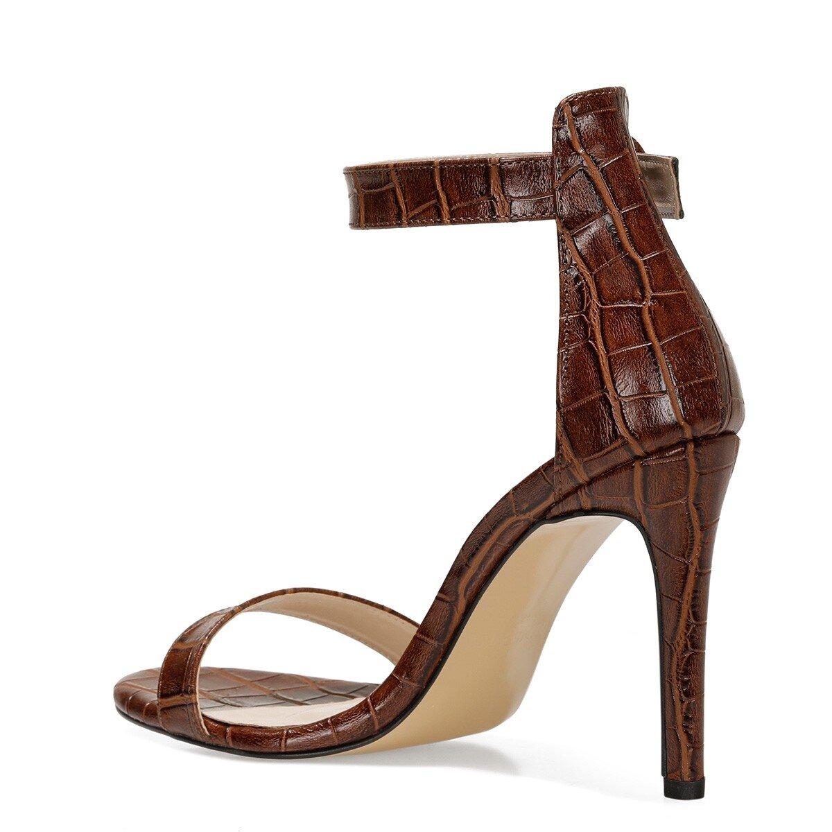 LINDIT 1FX Kahverengi Kadın Sandalet