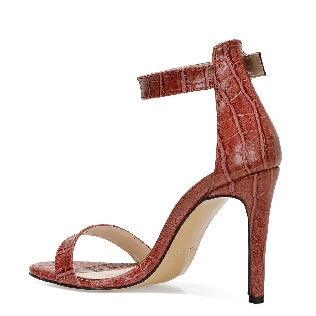 LINDIT 1FX Bordo Kadın Sandalet