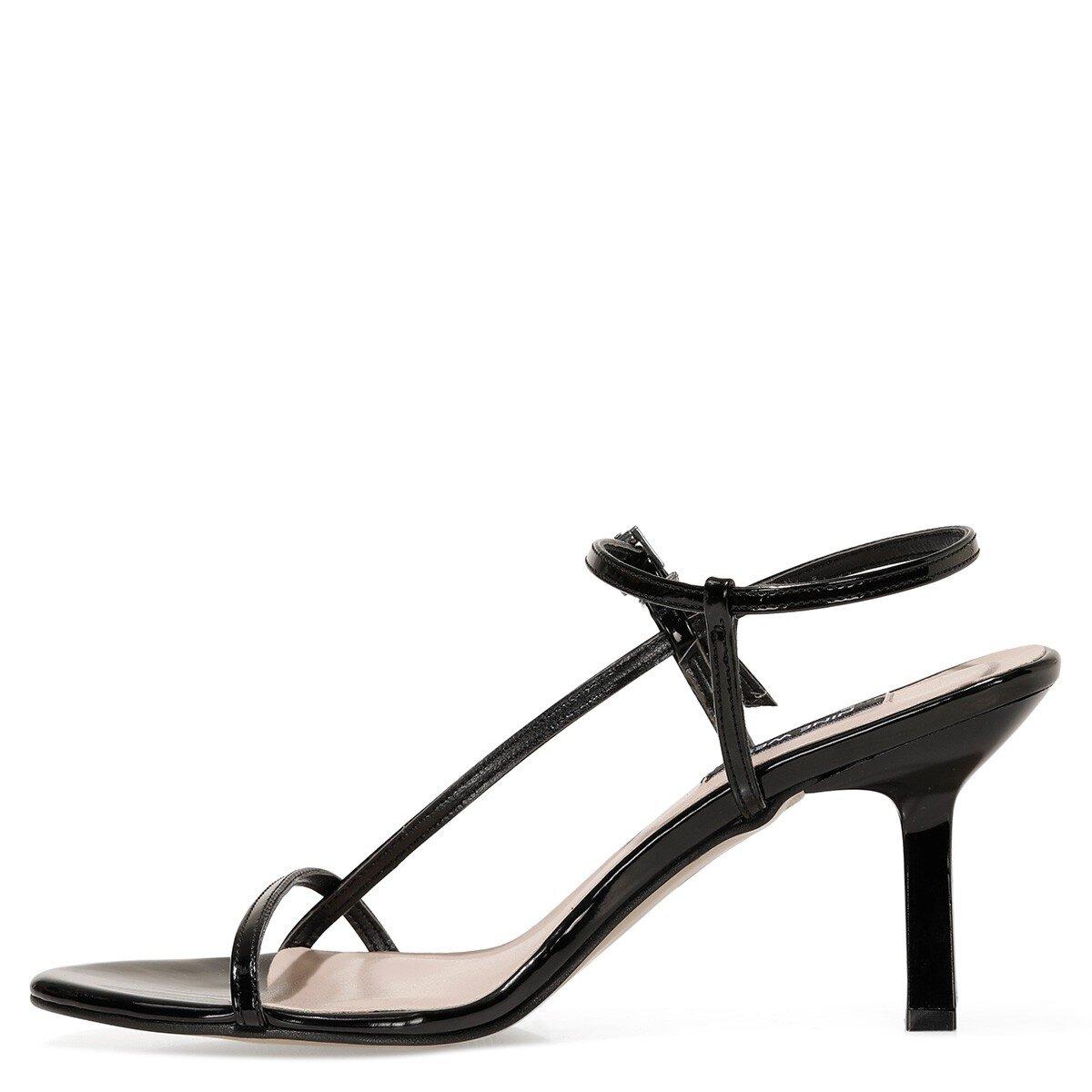 REBELL 1FX Siyah Kadın Topuklu Sandalet