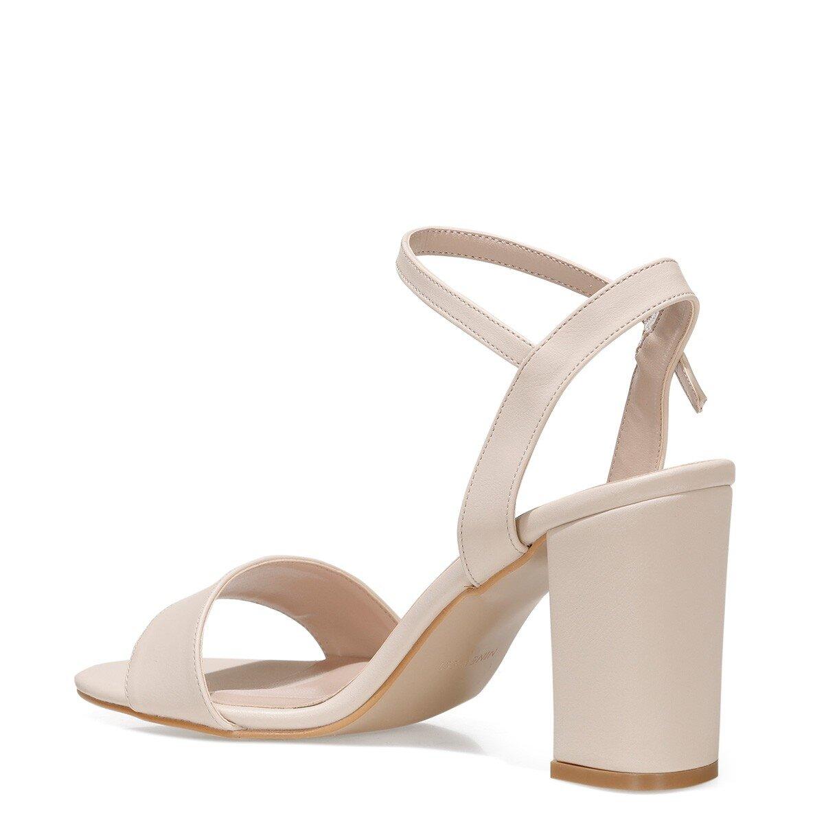 SIMEL 1FX Bej Kadın Sandalet