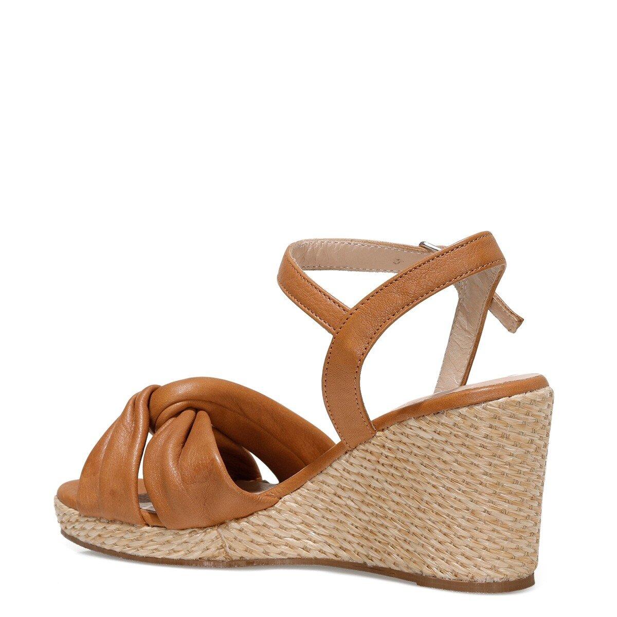CARETTE 1FX Taba Kadın Sandalet