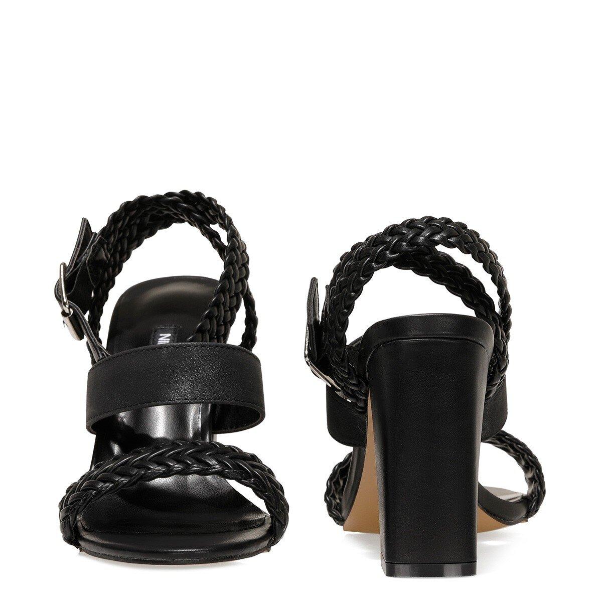 BAILEY 1FX Siyah Kadın Sandalet