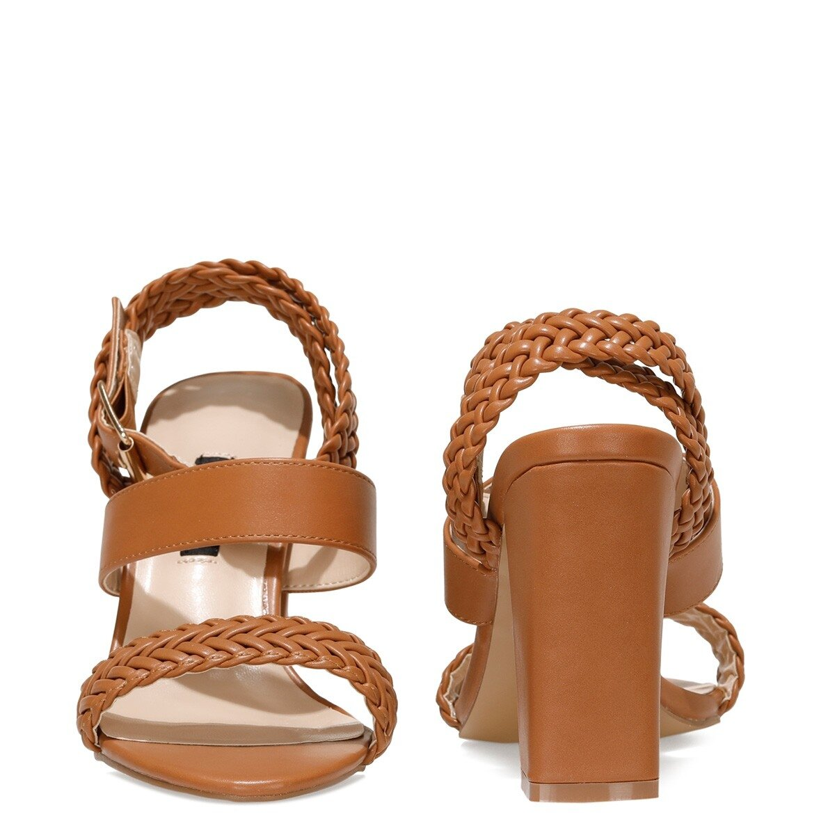 BAILEY 1FX Taba Kadın Topuklu Sandalet