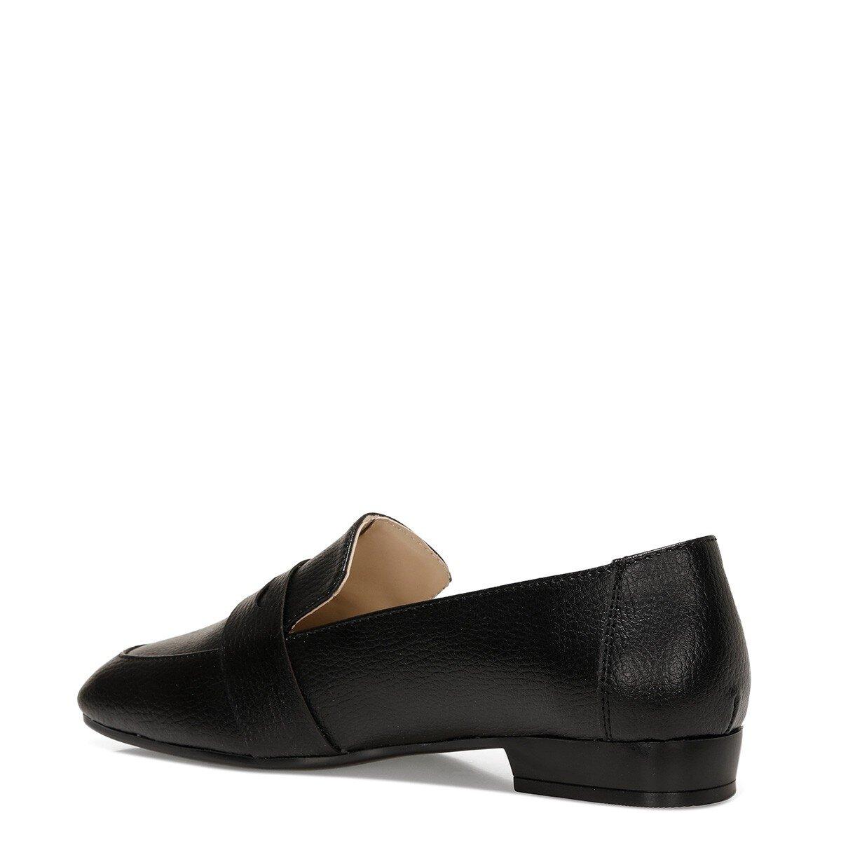 RONE 1FX Siyah Kadın Loafer Ayakkabı