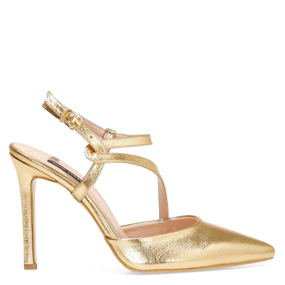 TUMLA 1FX Altın Kadın Gova Ayakkabı