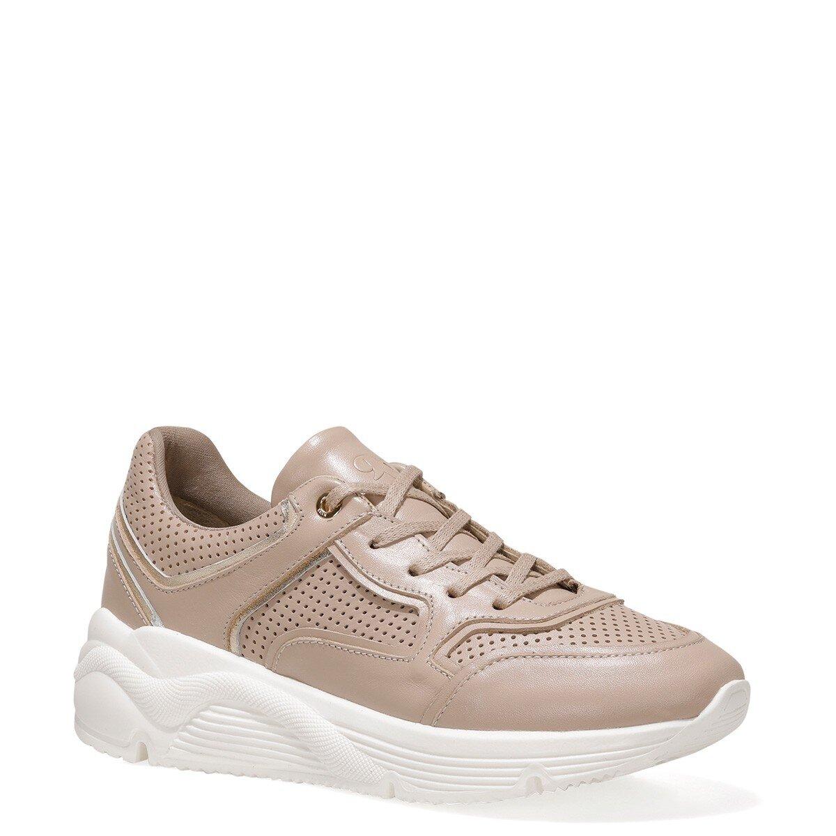 POHME 1FX Bej Kadın Sneaker
