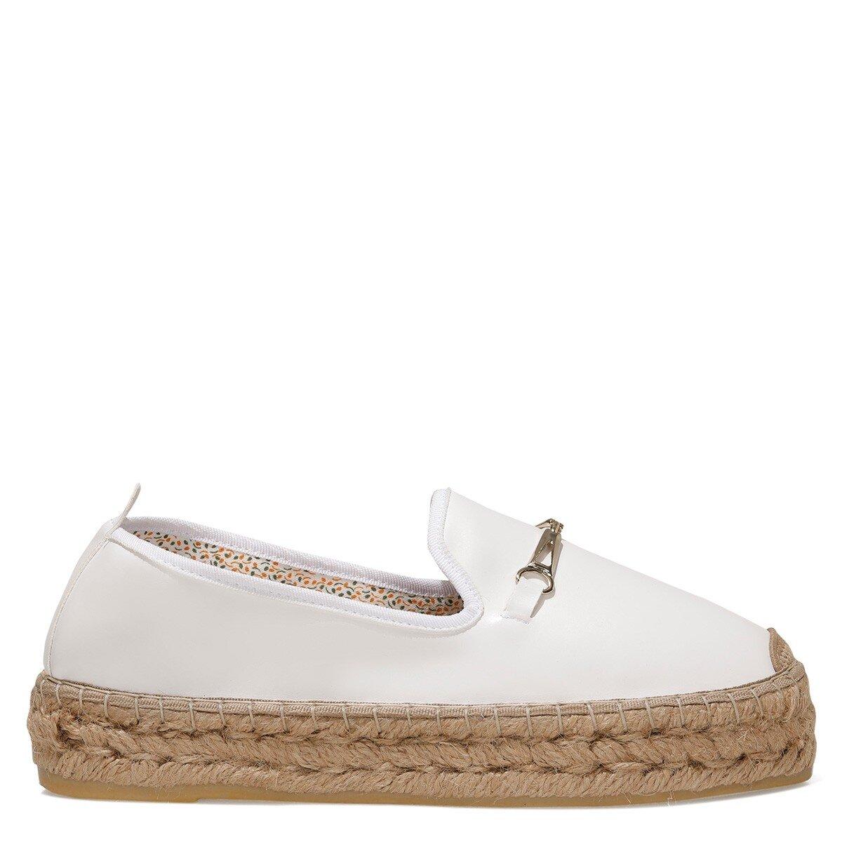MASQUE 1FX Beyaz Kadın Espadril Ayakkabı