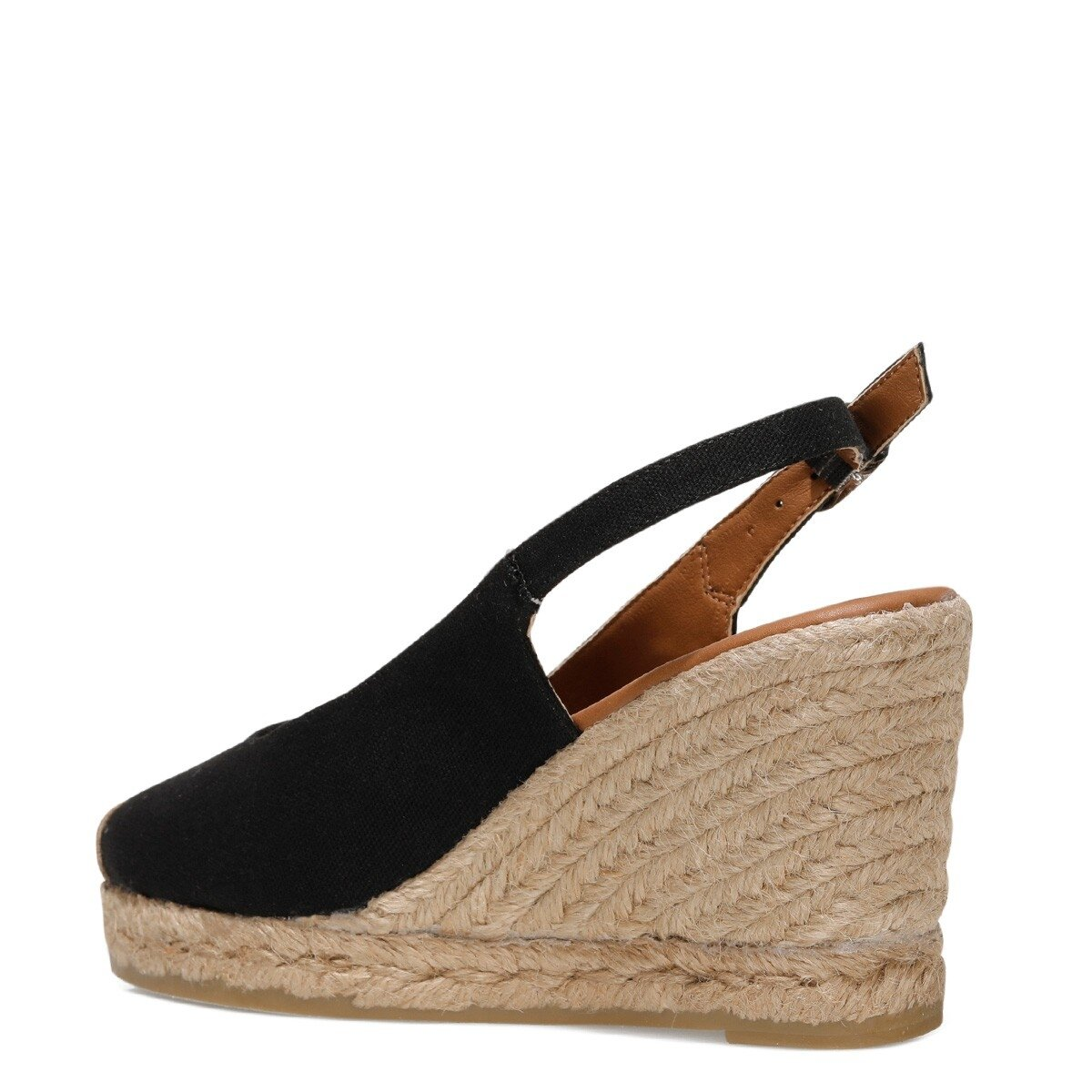 PUJICO 1FX Siyah Kadın Sandalet