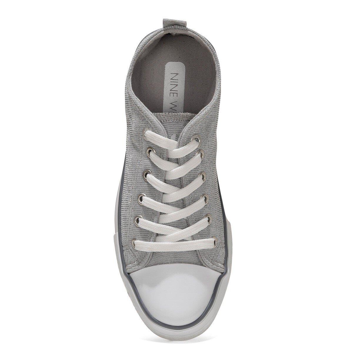 CONFY 1FX Gümüş Kadın Havuz Taban Sneaker