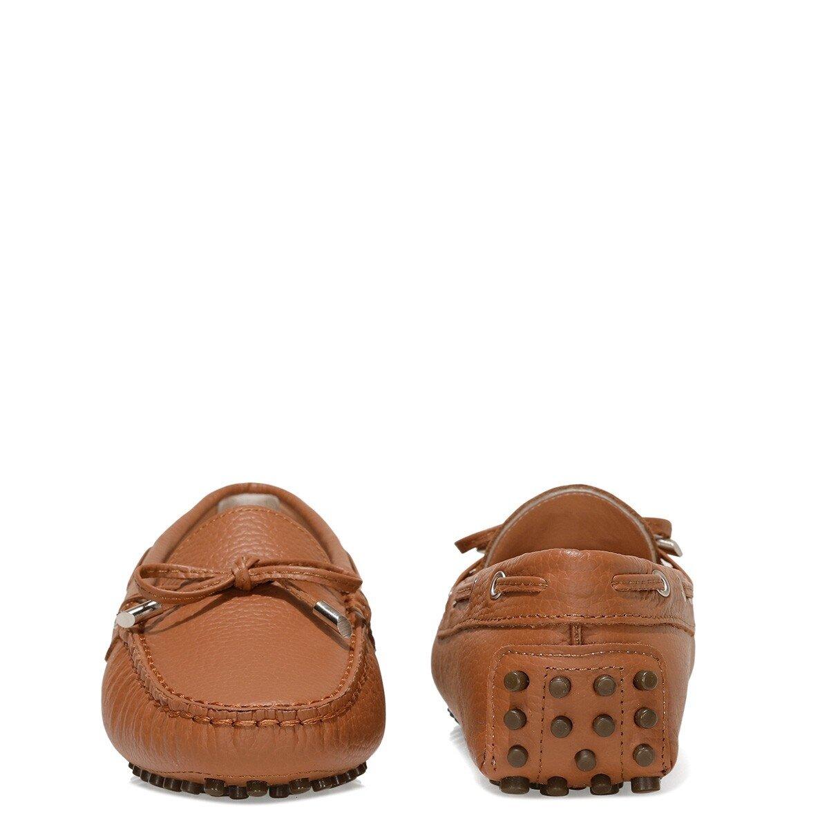 HOLT 1FX Taba Kadın Loafer Ayakkabı