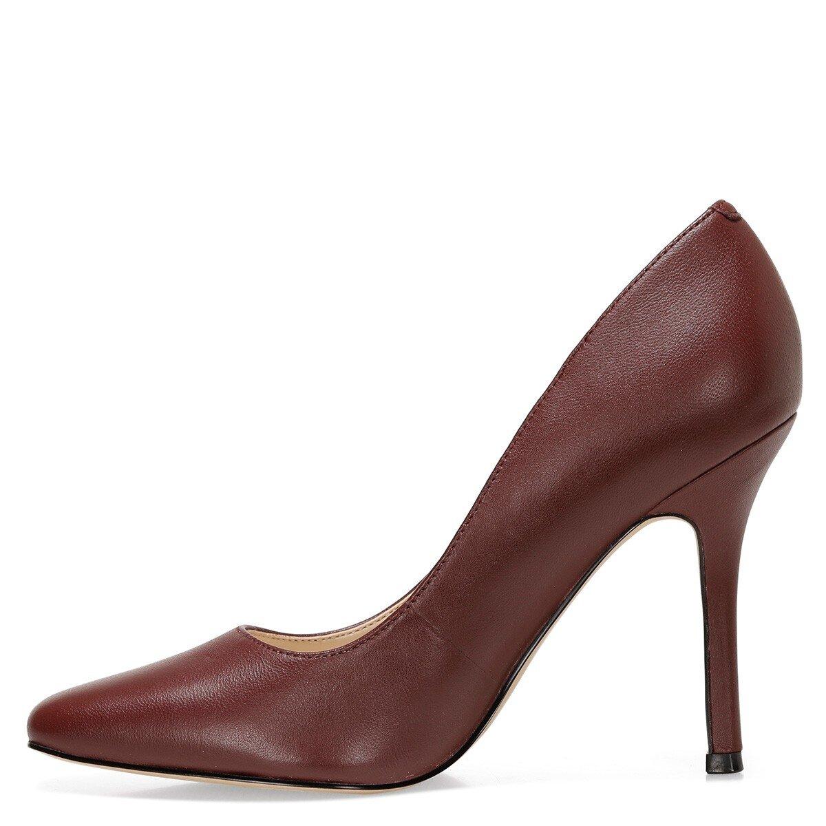 ARLEY Bordo Kadın Topuklu Ayakkabı