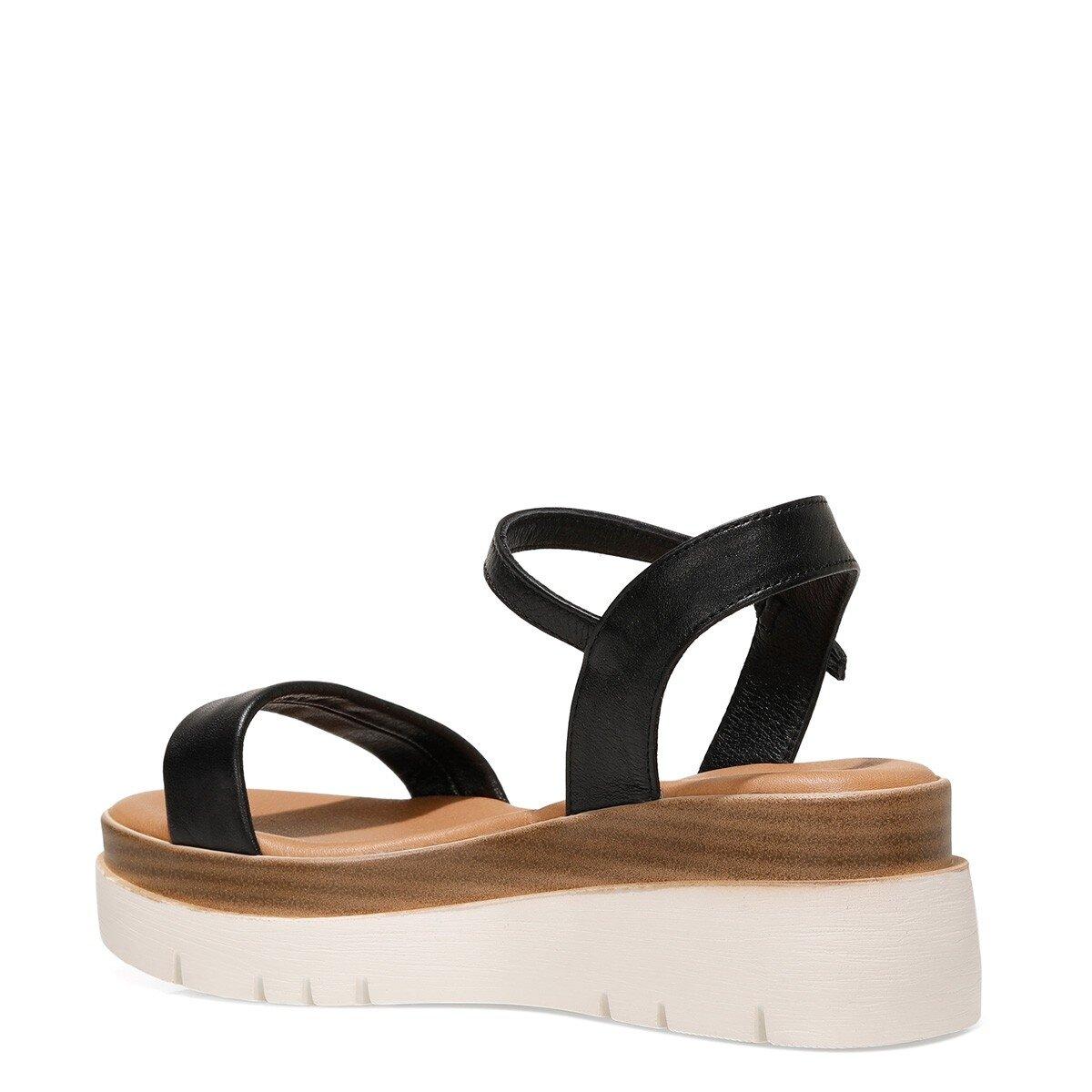 MILLEN 1FX Siyah Kadın Sandalet