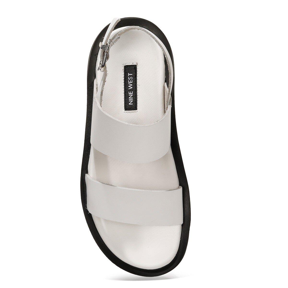 MELO 1FX Beyaz Kadın Sandalet
