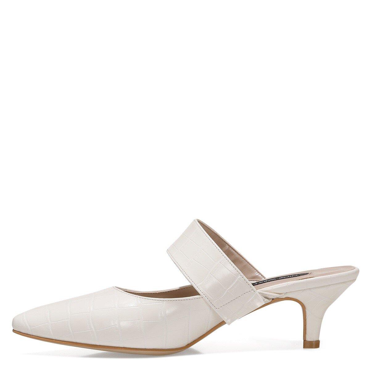 SENNES 1FX Beyaz Kadın Gova Ayakkabı