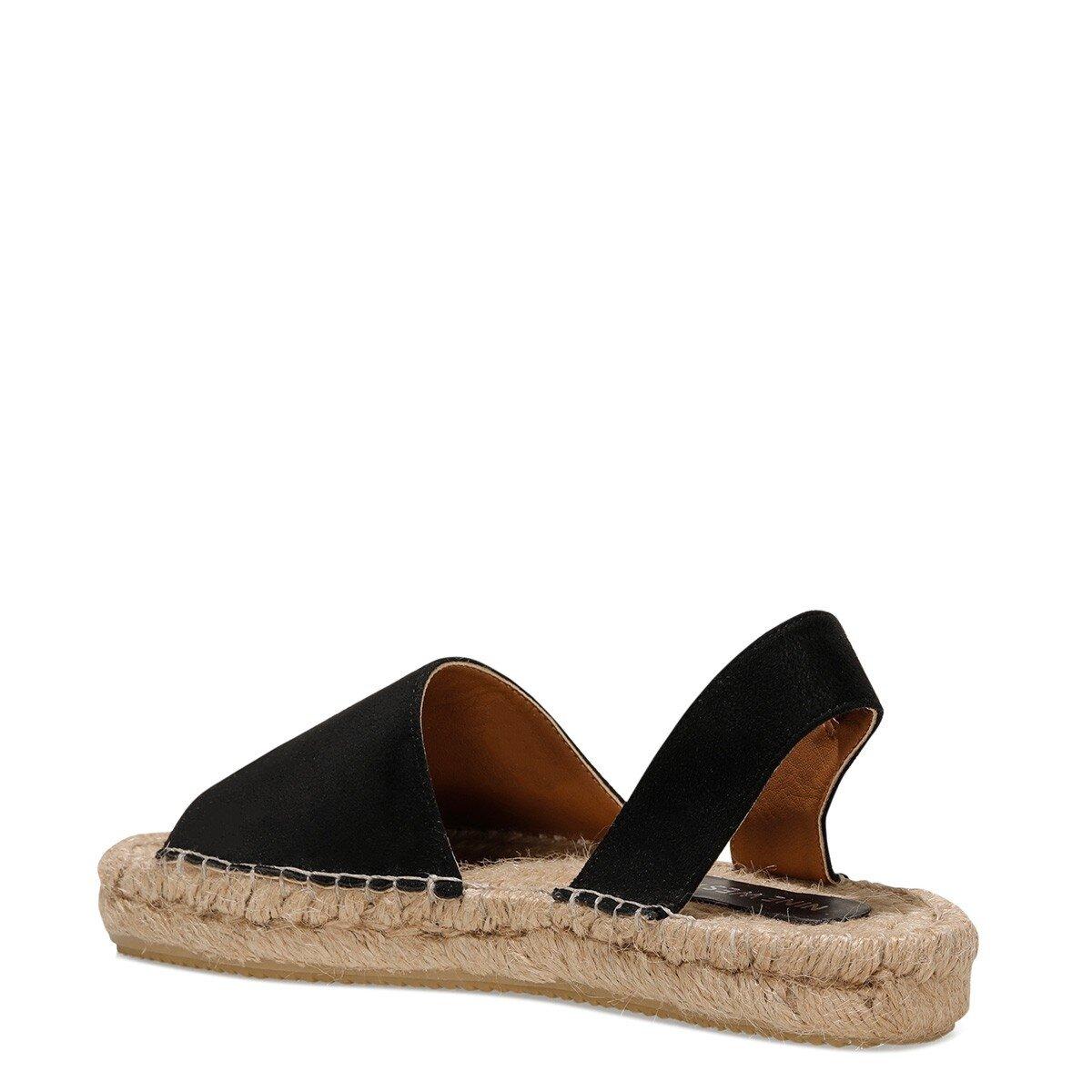 RILLA-D 1FX Siyah Kadın Espadril Ayakkabı