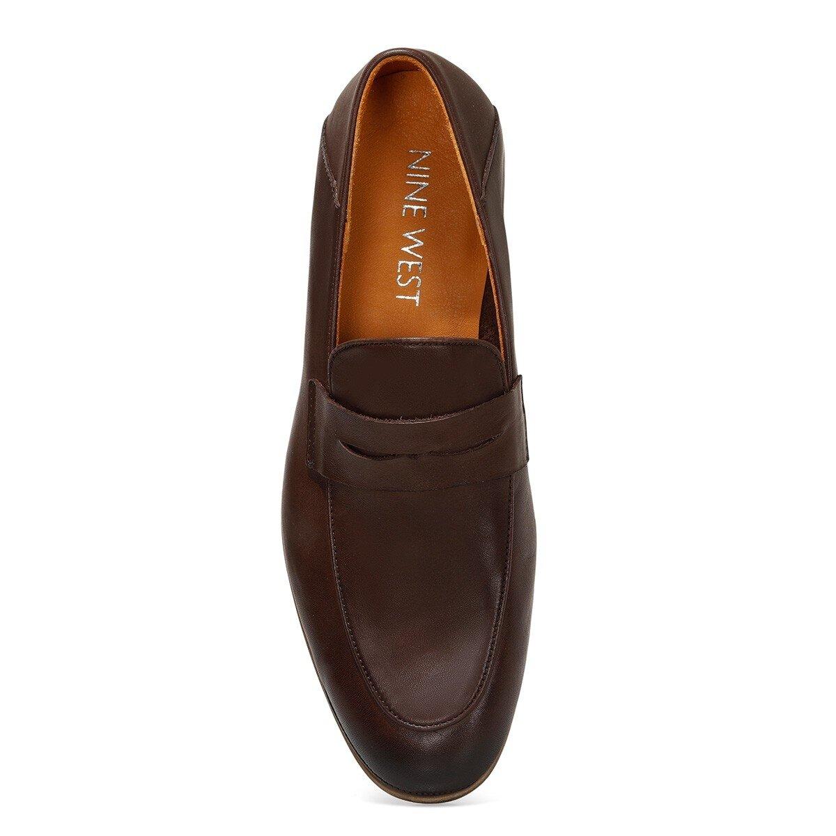 HUNA 1FX Kahverengi Erkek Klasik Ayakkabı