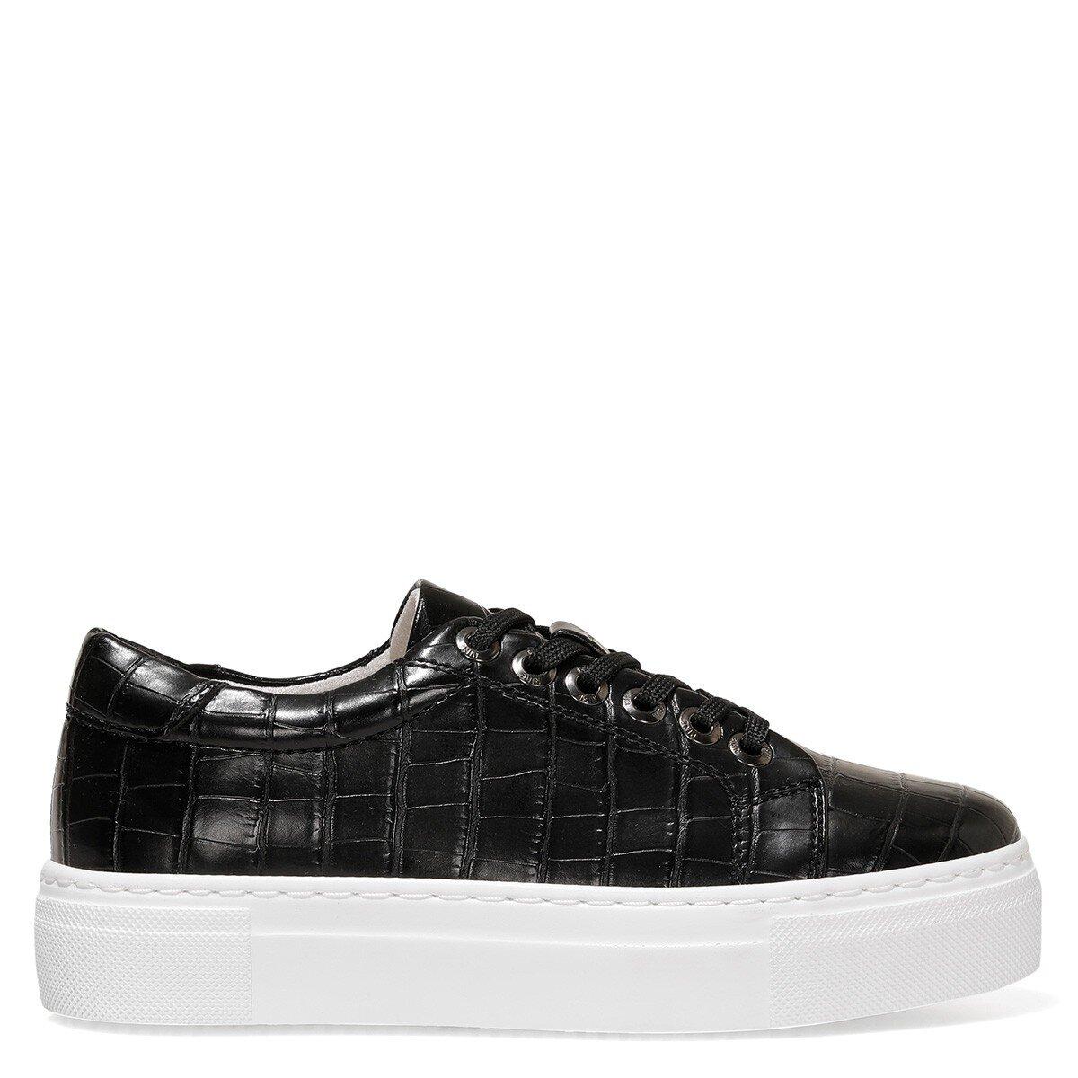 ANDY 1FX Siyah Kadın Havuz Taban Sneaker