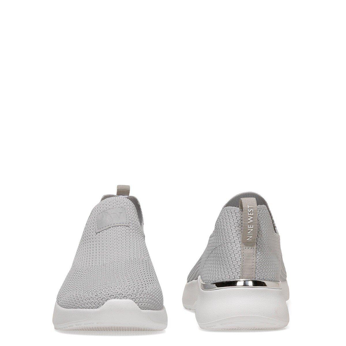 RENEE2 1FX Gri Kadın Slip On Ayakkabı